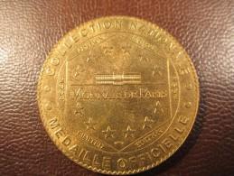 MEDAILLE OFFICIELLE Edition Limitée  MONNAIE DE PARIS 2004 FORT DE DOUAUMONT MEUSE 1914-1918 - Monnaie De Paris