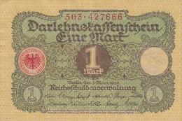 Eine 1 Mark - Berlin 1920 - Administration De La Dette