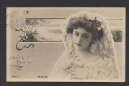 DF / CELEBRITÉS / ARTISTES / ROBINNE / ACTRICE DE THÉÂTRE / PHOTO REUTLINGER / CIRCULÉE EN 1904 - Entertainers