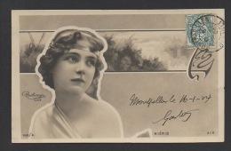 DF / CELEBRITÉS / ARTISTES / MIÉRIS / ACTRICE DE THÉÂTRE ET DE CINÉMA MUET / PHOTO REUTLINGER / CIRCULÉE EN 1904 - Entertainers