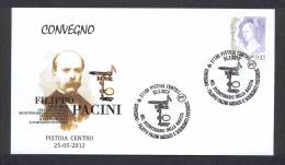 ITALY ITALIA 2012. SPECIAL POSTMARK. FILIPPO PACINI MEDICAL AND SCIENTIFIC - Medizin