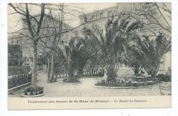 MCS4-  MONACO Pensionnat Des Dames De St Maur De Monaco - Massif Des Palmiers - Monaco