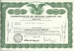 Action USA - Commonwealth Oil Refining Company, Inc - Industrie