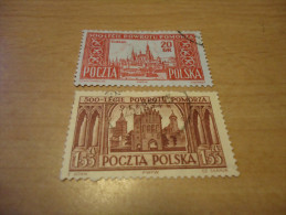 Polen: 2 Werte Elblag/Olsztyn - 1944-.... Republik