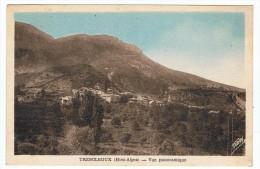 Trescléoux       Vue Panoramique   1950 - Andere Gemeenten