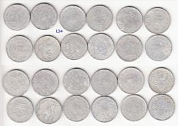 Vietnam Lot Of 12 Aluminum Coins 5 Hao 1946 KM# 2.1 (L34) - Vietnam