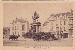 Ostende - Monument Léopold 1er (attelage, Tramway, Garage) - Oostende