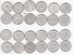Vietnam Lot Of 12 Aluminum Coins 5 Hao 1946 KM# 2.1 (L35) - Vietnam