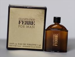 Gianfranco Ferré For Man - Miniatures Modernes (à Partir De 1961)