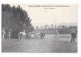 52 - Ecole Patrique D´ Agriculture De SAINT BON : Leçons D´Arpentage - France