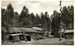 94000 - Suède    Alvdalen     Rots Skans    Maison En Bois Sans Clous  Dans Le Comté De Dalécarlie - Suède