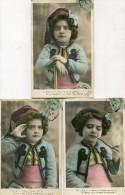 ENFANT(SERIE DE 5 CARTES) PIPE - Portraits