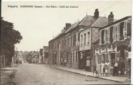 FLIXECOURT - Rue Thiers - Café Du Centre - Flixecourt