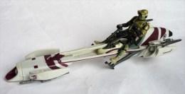 FIGURINE STAR WARS 2005 SPYDER BIKE ET SCOUT TROOPER Hasbro China - Episode II