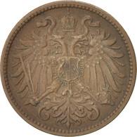 Autriche, Franz Joseph I, 2 Heller, 1911, TTB, Bronze, KM:2801 - Autriche