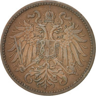 Autriche, Franz Joseph I, 2 Heller, 1913, TTB, Bronze, KM:2801 - Autriche