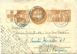 Postal Stationery - Póvoa De Varzim - ??? - 1942 - Postal Stationery