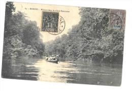 GUYANNE  MARONI- Mineurs Dans La Crique Sparouine (timbre Guyanne) - Saint Laurent Du Maroni