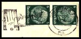 Deutsches Reich / Germany: Stempel 'Strassenverkehr, 1938' / Cancel 'Traffic Safety', Dresden A2 - Other (Earth)