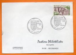 15 SALERS  ( Timbre Concordant ) 1974 Lettre Entière N° P584 - Matasellos Conmemorativos