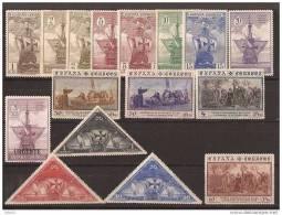 ES531-LA143TH.Spain Espagne DESCUBRIMIENTO DE AMERICA.Colon.1930 (Ed 531/46*).levisima Charnela MAGNIFICOS - American Indians