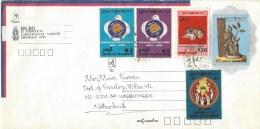 Myanmar Burma 2000 Yangon UPU Drum Independence Postal Stationary Cover - Myanmar (Burma 1948-...)