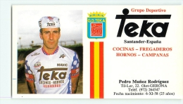 Pedro Munoz RODRIGUEZ . 2 Scans. Cyclisme. Teka 1984 - Radsport