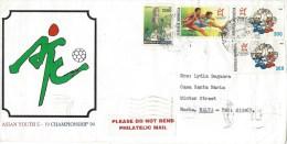 Indonesia 1994 Djakarta Asian Games Hurdles Mascot Cover - Indonesië