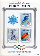 YEMEN SUD BF19b Olympiques Sarajevo 84 - Inverno1984: Sarajevo