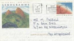 Australia 1996 Dove Lake Postage Paid Aerogramme - Aerogrammen
