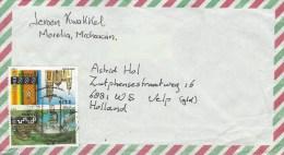 Mexico 1995 Morelia Toucan Church Tourism $2.30 $3.10 Cover - Mexico