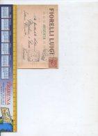 [A346]CARTOLINA COMMERCILALE - VERMOUTH FIORELLI-MARTINI E ROSSI- ARGENTA -1908 - Winkels
