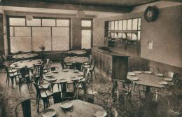58 MONTIGNY EN MORVAN / Hôtel Graillot, Salle à Manger / - Autres Communes