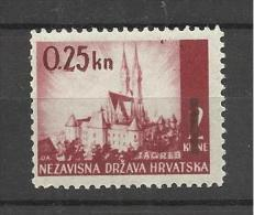 Croatia  1943 Mi#82 MNH** - Croazia