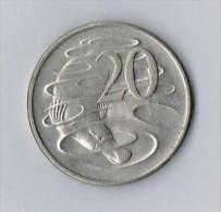 Australian 20 Cent 1981  - Elizybeth II - Australia - Australie