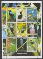 GUINEE   1998       OISEAUX       N°  1473 / 1481       COTE   12 € 00 - Guinee (1958-...)