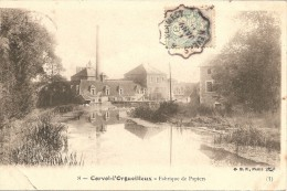 58 NIEVRE  :   Corvol - L' Orgueilleux      Fabrique De Papiers     Réf 201 - Otros Municipios