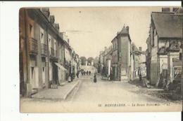 Montbazon  37    La Route Nationale Animée-Epicerie Et Café - Montbazon