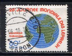 GABON - N° 389° - 25è JOURNEE MONDIALE DES LEPREUX - Gabón (1960-...)