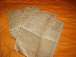 LOT DE 3 DOCUMENTS ANCIENS DE 1930. / AVERTISSEMENT ANCIENNES CONTRIBUTIONS DIRECTES ET TAXES ASSIMILEES. / LARODDE. - Vieux Papiers