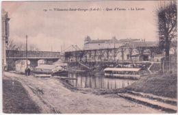 19- Villeneuve-Saint-Georges - Quai D'Yerres -le Lavoir -ed. Gautrot - Villeneuve Saint Georges