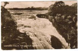 Victoria Falls, The Devils Cataract (pk27124) - Zambie