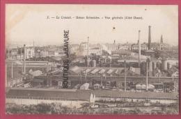 71 - LE CREUSOT--Usines Schneider--Vue Générale (cote Ouest) - Le Creusot
