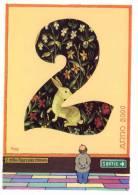 Illustrateur JEAN MARIE PETEY    Série L'an 2000 Pour Le Salon De DRAGUIGNAN - Petey