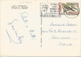 O209 Luxembourg - Faubourg Du Pfaffenthal Et Pont G.D. Charlotte - Nice Stamps Timbres Francobolli / Viaggiata 1970 - Cartoline