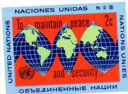 1964 Nazioni Unite - Mantenimento Della Pace - New York - Sede Centrale Delle NU