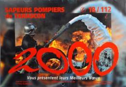 CALENDRIER Des POMPIERS ANNEE 2000 - Sapeurs-Pompiers De Tarascon ( B-du-R ) - Trés Bon état - - Calendriers
