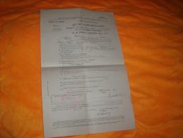 DOCUMENT OU LETTRE DE 1920. / DECLARATION AUX FINS D'IMMATRICULATION. / CACHET ROUGE  MAIRIE LARODDE. - Vieux Papiers