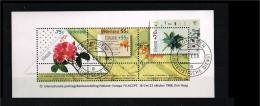 1988 - Netherlands NVPH 1414 Used - International Stampexibition Filacept (block) [A56_076] - Period 1980-... (Beatrix)