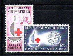 Y1441 - SUD AFRICA , Yvert N. 275/276  ***  CROCE ROSSA - Sud Africa (1961-...)
